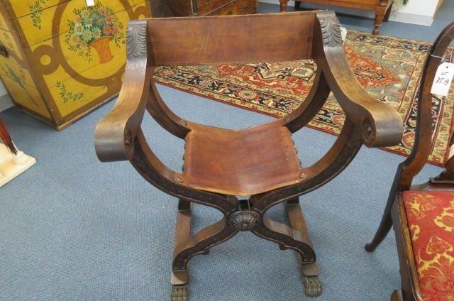 Savonarola Chair,