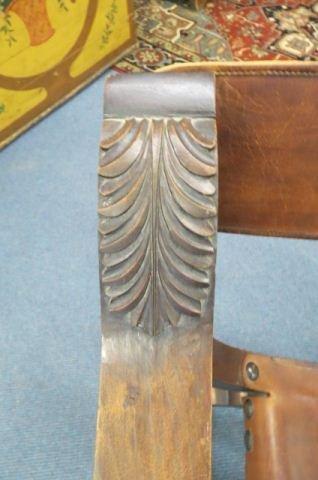 Savonarola Chair, - 3
