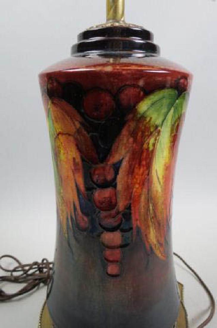 Moorcroft Art Pottery Lamp, - 2
