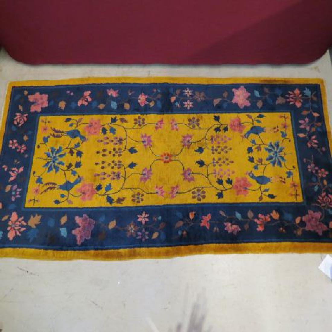 Art Deco Chinese Nichols Type Rug,