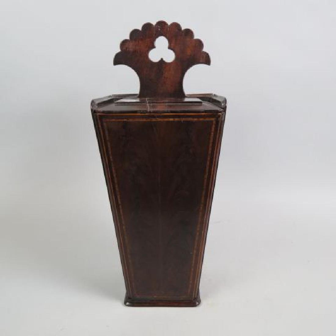 Early Wooden Candle Box,