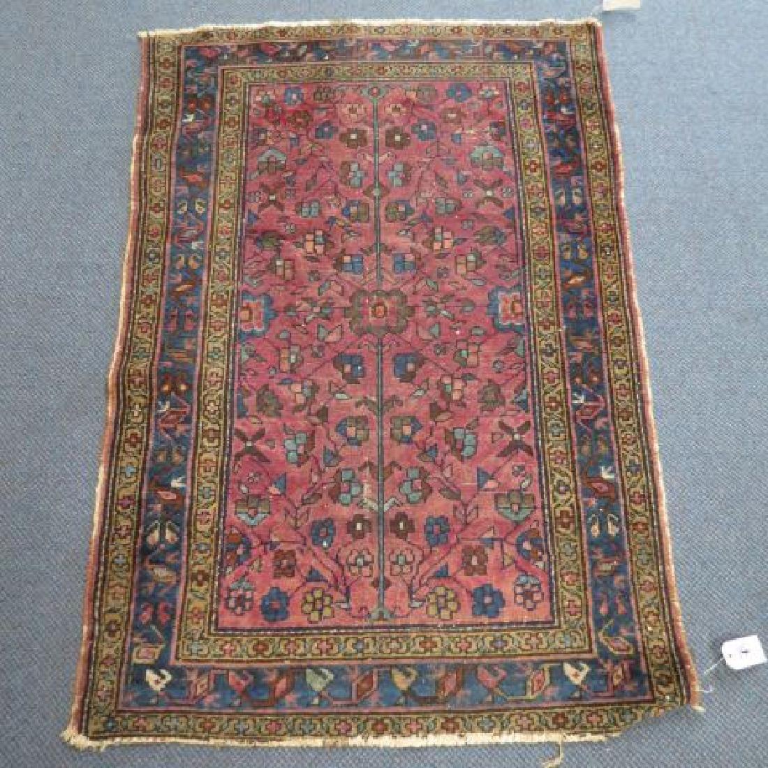 Antique Persian Handmade Rug,