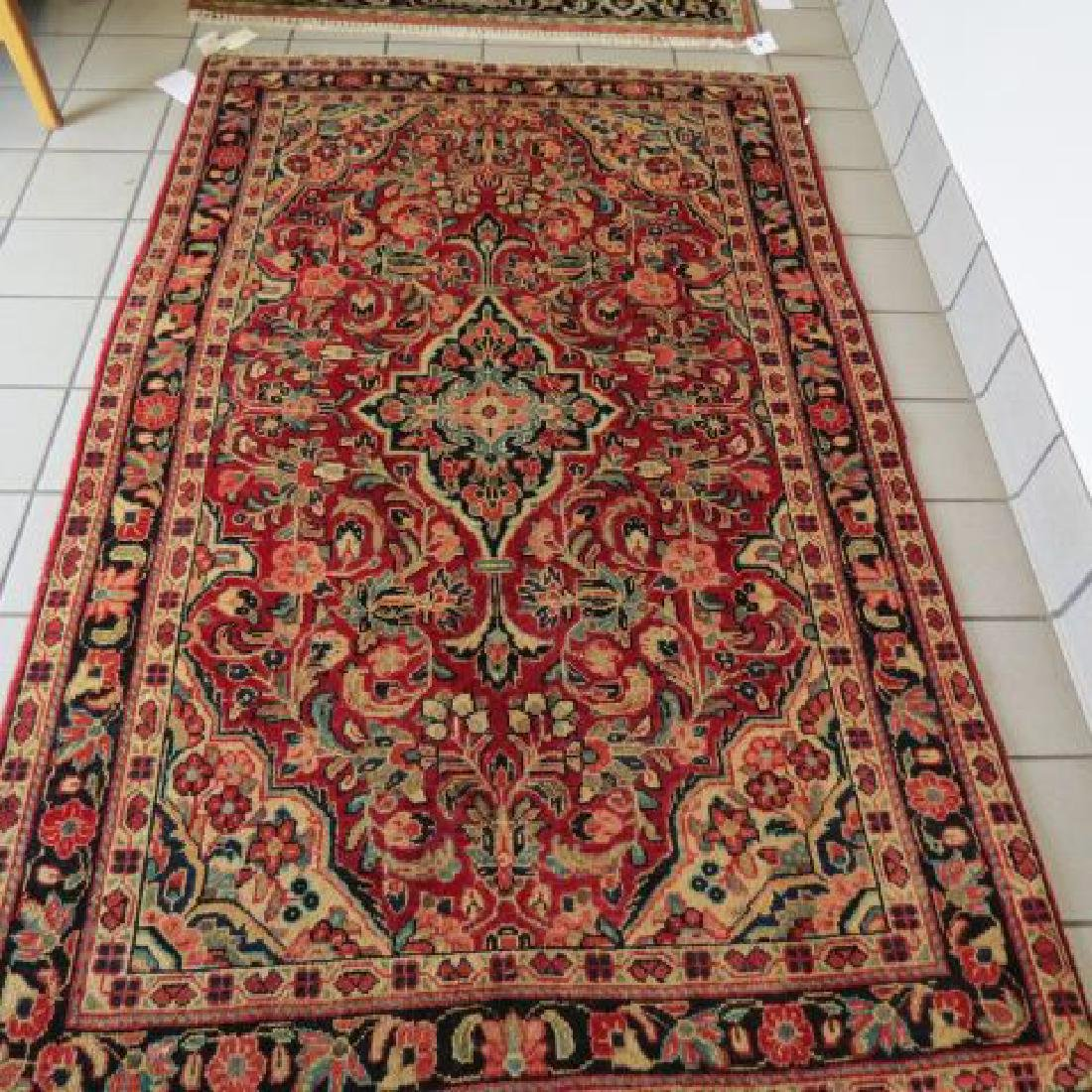 Mahal Persian Handmade Rug,