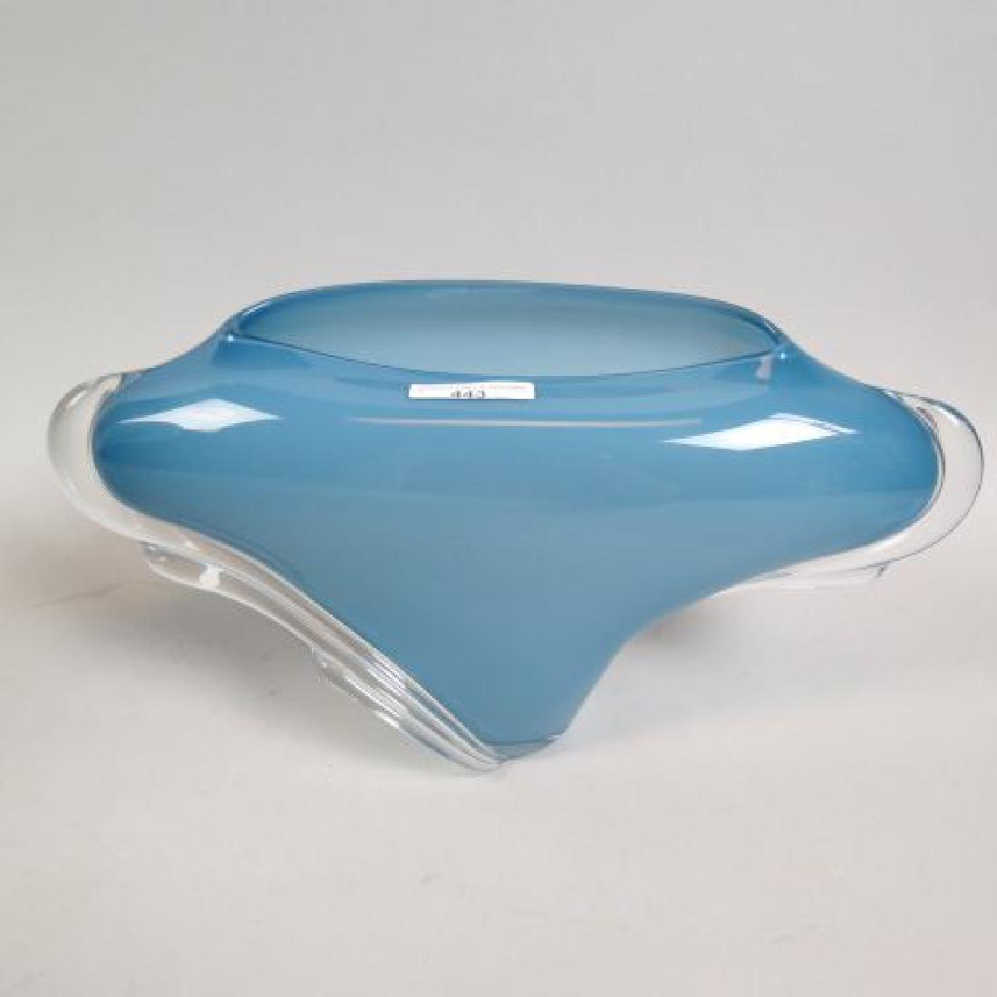 Thomas Buechner III Studio Art Glass Vase,