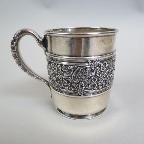 Tiffany Sterling Silver Infant or Christening Mug