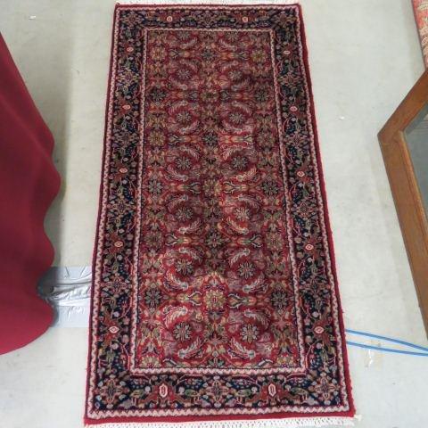 Herati or Bidjar Persian Handmade Mat,