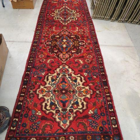 Heriz Persian Handmade Runner,