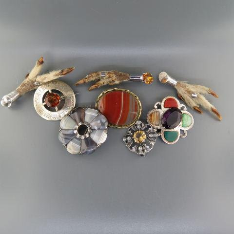 Scottish Jewelry Lot,