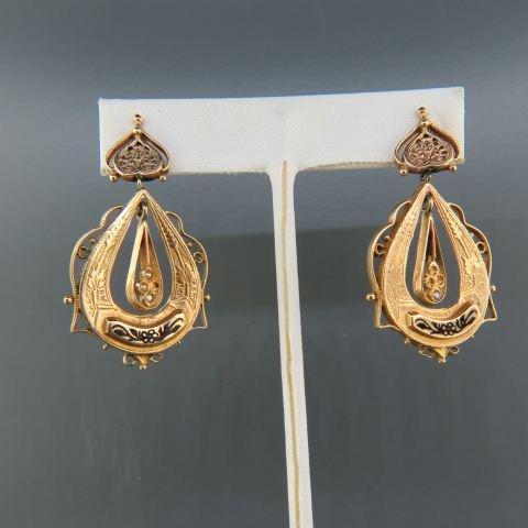 14K Gold Earrings,