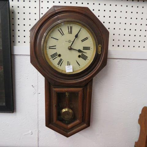 Seth Thomas Regulator Wall Clock,