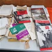 Frank Clodfelter Southern Railroad Archive & Photo Lot,