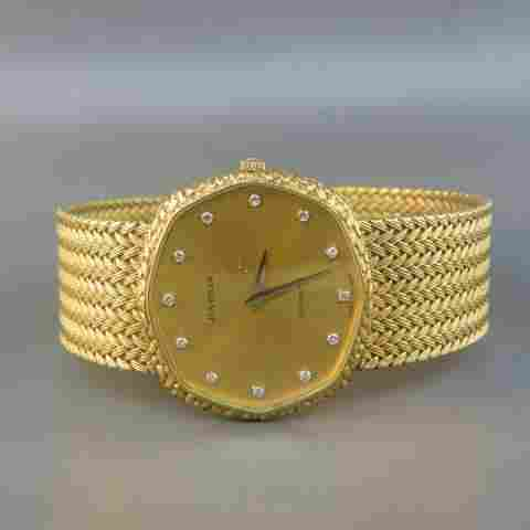 Juvenia 18K Gold Men's Wristwatch,