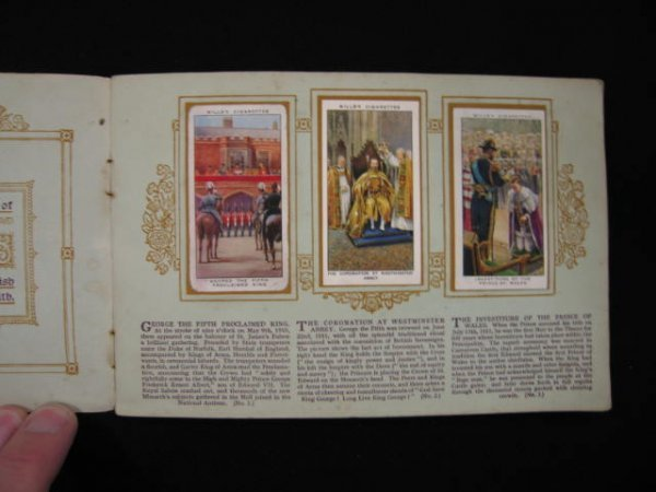 17B: Wills Cigarette Trade Card Set, King George V, sil