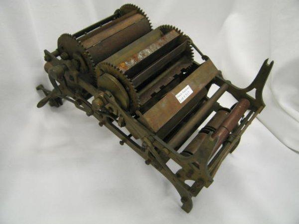 517: Patent Model, 19th Century, printing press, #61,55