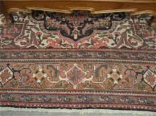 1135: Heriz Persian Handmade Room Size Rug, fine large