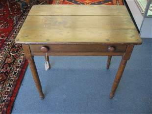 """15: Victorian Table with Drawer, 28"""" tall, 20"""" x 30"""" to"""