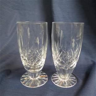 "10 Waterford Crystal ""Lismore"" Iced Tea Glasses,"