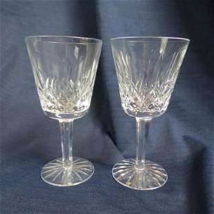 """12 Waterford Crystal """"Lismore"""" Wines,"""