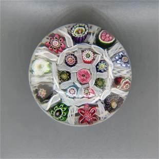Antique Art Glass Paperweight,
