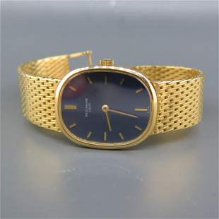 Patek Philippe 18K Gold Men's Wristwatch,