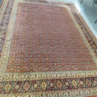 Hamadan Persian Handmade Room Size Rug,