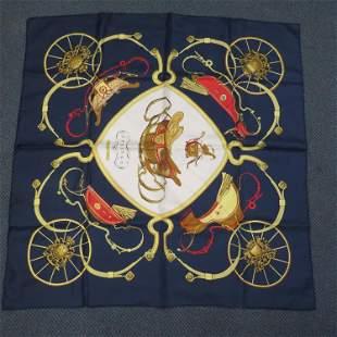 Hermes Silk Scarf,
