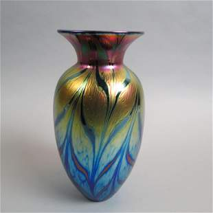 Lundberg Studio Art Glass Vase,