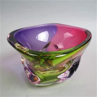Harrie Art Glass Bowl,