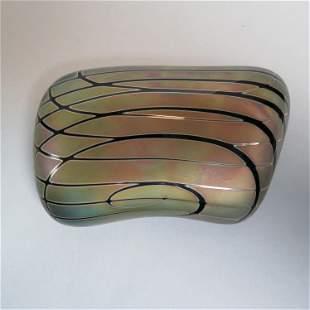 Zweifel Art Glass Paperweight,