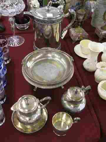 6 pc. Victorian Silverplate Collection;