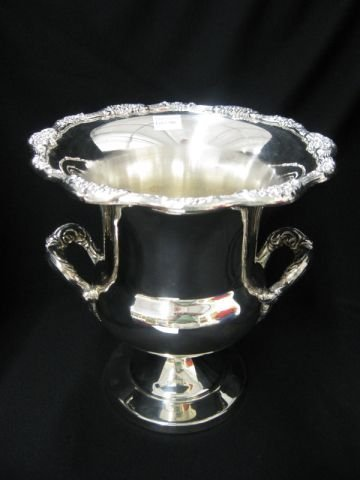506: Towle Silverplate Wine Cooler, classical form,