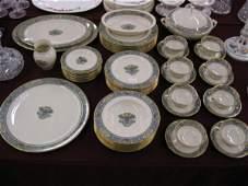 709: 54 pcs. Lenox Autumn China Dinnerware,