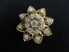 730: Diamond Brooch or Pendant, over 2 carats