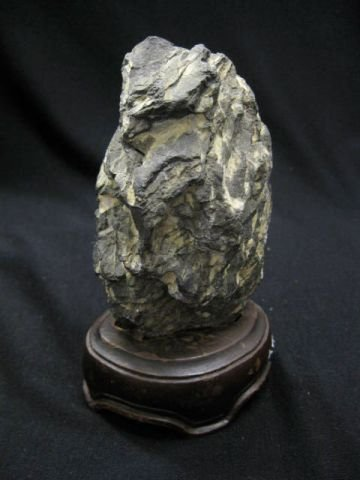 18: Chinese Scholar's Rock or Viewing Stone, Suiseki, L