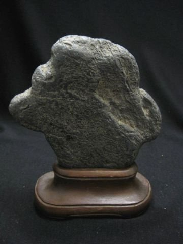 23: Chinese Scholar's Rock or Viewing Stone, Suiseki, 5