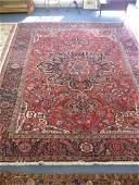 315: Heriz Persian Handmade Room Size Rug, large