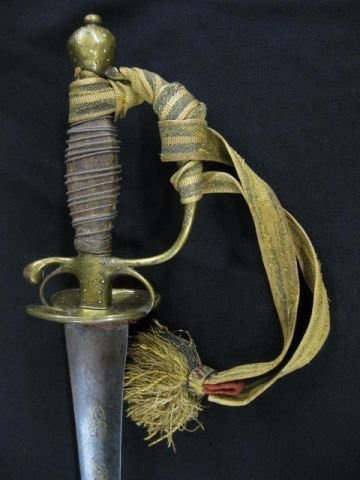 1: Officer's Small Sword 1750-1770 no scabbard (N/S)
