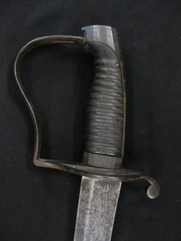 5: Heavy Cavalry Saber, circa 1810 marked GG-N/S.