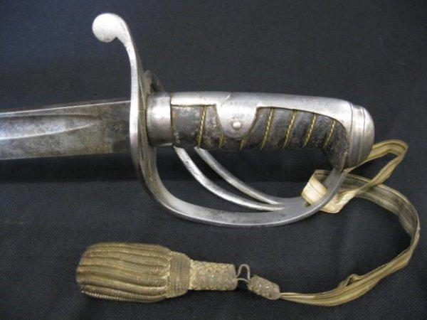 9A: Cavalry 1861-1862 Sword, Tiffany & Company N/S.