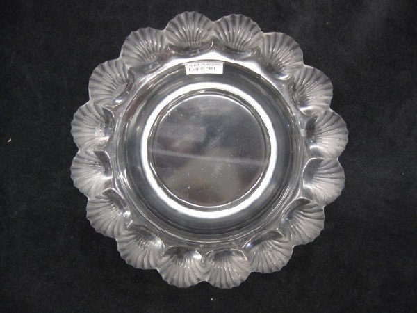 501: Lalique French Crystal Bowl,