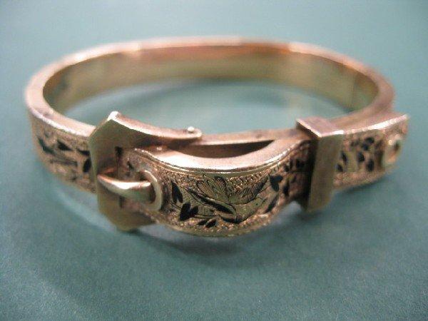 510B: Victorian Bangle Bracelet,