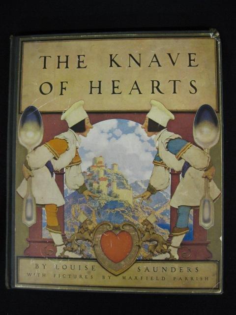 876: Maxfield Parrish Illustrated Book