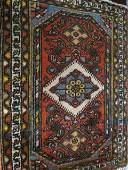 1448: Hamadan Persian Handmade Mat,