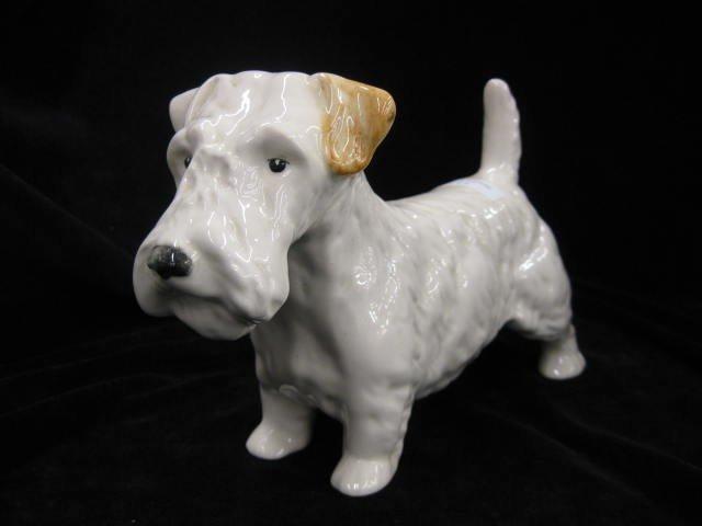 "5: Beswick Pottery Figurine of a Yorkie, 6"" tall, 9"" lo"