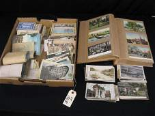 182B: Postcard Collection, includes war time, blacks, P