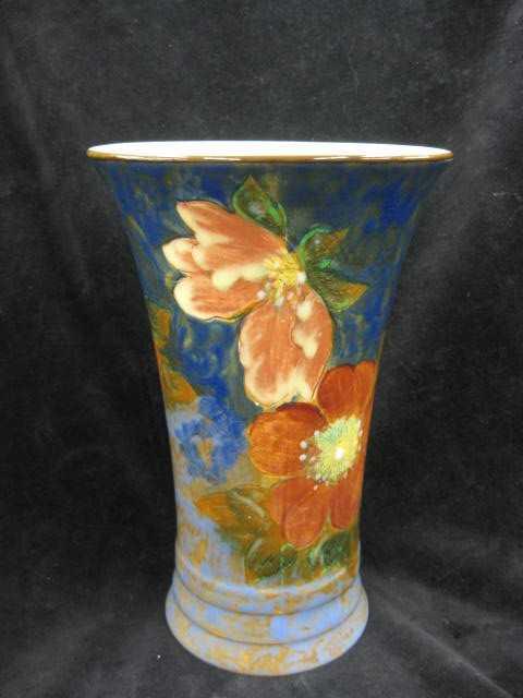 529 Royal Doulton Handpainted Porcelain Vase Fine Flo