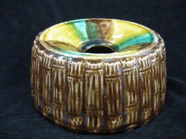 5: Majolica Pottery Spittoon,