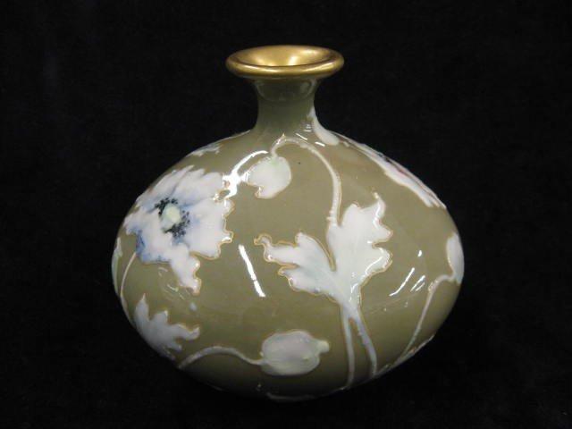 16: R.St.K. Teplitz Amphoria Pottery Vase,