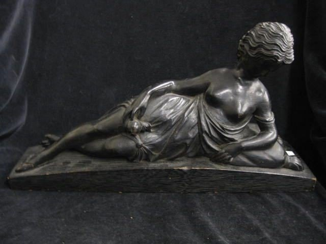 18: 19th Century Carved Wooden Figurine of