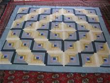 169C: Handmade Patchwork Quilt,